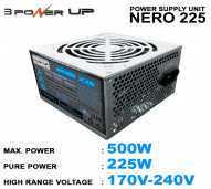 Power Supply CPU 500Watt Power Up Nero 225